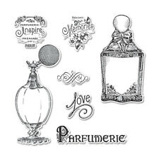 REDUCED Sizzix Framelits Die Set 659055 Dies & Stamps Perfumerie / Perfume