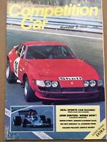 Competition Car Magazine - Issue 7 - 1972 - John Surtees, Avenger Tiger, R16 TS