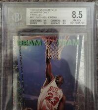 1992 Michael Jordan BEAM TEAM Members Only BGS 8.5 w 9.5 CENTERING!! RARE!! 🔥📈