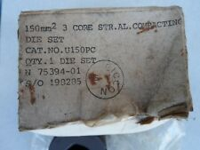 Hydraulic Crimper Cembre BICC Burndy 150mm  3 Core Compacting die U150PC