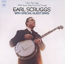 I Saw The Light With Some Help From My Friends - Earl Scruggs (2005, CD NIEUW)