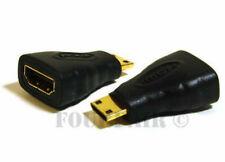 100 Pack HDMI Female to Mini HDMI Male Type C Adapter Converter Digital Camera