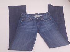 7 for All Mankind Womens Medium Wash Bootcut Denim Jeans Size 26 x 33