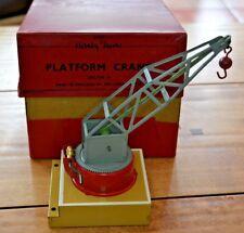 More details for vintage hornby o gauge platform crane near mint condition