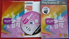 EYE TOY PLAY GROOVE ORIGINAL BLACK LABEL  SONY PLAYSTATION 2 PS2 PAL
