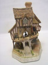 "David Winter Cottages ""Baron Fourthrite's Folly"" Signed Coa Le Vgc"