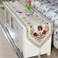 Bedside Dining Table Cover Cover Coffee Machine Fabric Cloth Scarf Dust Cover O3