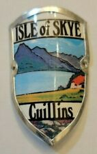 Isle of Skye, UK Walking Stick Stocknagel, Hiking Medallion, Badge, Pin, GP5-11