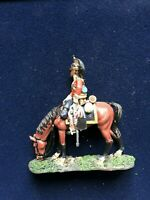 SOLDAT DE PLOMB CAVALIER EMPIRE SOLDAT 1er ROYALE DRAGONS 1814