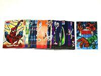 2001 Marvel Legends 72 BASE CARD SET TOPPS AVENGERS SPIDER-MAN VENOM X-MEN LEE!