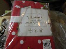 Pottery Barn Teen The Grinch Festive Flannel sham Christmas standard New