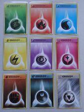 Japanese Pokemon 2016 Gym Battle First Design ENERGY Card Promo 9 Set - XY-P