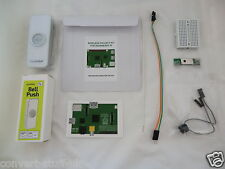 Wireless Internet Doorbell (white) project kit for Raspberry Pi 3. Lloytron MIP