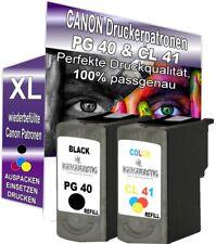 DRUCKER PATRONE für CANON PG40+CL41 IP2500 IP2600 MX300 MX310 MP140 MP150 MP160