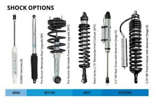 """For Ford F-250 Super Duty 2017-2019 Pro Comp 4"""" Front Coilover Upgrade Lift Kit"""