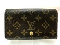 Authentic Louis Vuitton Monogram Porte Monnaie Zip Purse Wallet M61735 5607082-1