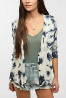 Urban Outfitters Staring At Stars Cardigan Blue and White Size Small Pre-Owned