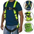 Safety Harness 1D Ring Fall Protection Full Body ANSI OSHA UL JORESTECH