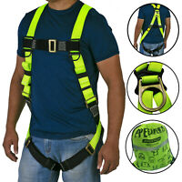 Safety Harness 1D Ring Fall Protection Full Body ANSI OSHA UL JORESTECH