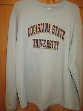 LSU (Louisiana State University) Microfleece Pull-Over~Badger Sport~Large~NWOT
