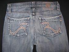 Rock & Republic Mens Jeans Floyd Low Slim Straight Leg in Cyanide 32 x 29
