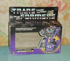 original G1 Transformers multi-changer ASTROTRAIN empty BOX (only)