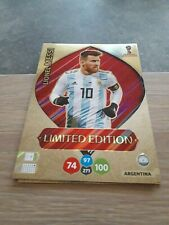 Panini adrenalyn World Cup Russia 2018 Limited XXL Messi