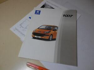 Peugeot 1007 Japanese Brochure 2006/01? GH-A8KFV/NFU