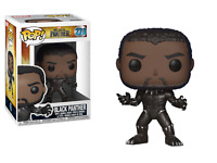 New FUNKO POP #273 BLACK PANTHER FIGURE T'Challa