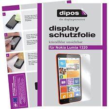 Nokia Lumia 1320 Protector de Pantalla protectores transparente