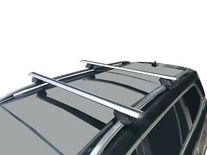 Alloy Roof Rack Cross Bar for Jeep Cherokee 2014-20 KL Lockable 120cm