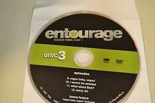 Entourage Third Season 3  Part 1 Disc 3 Replacement DVD Disc Only *