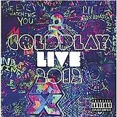 Coldplay - Live 2012 (2012)  CD+DVD  NEW  SPEEDYPOST