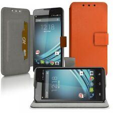 Housse Coque Etui Universel L Couleur Orange pour Microsoft Lumia 640 LTE