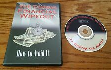 The Coming Financial Wipeout: How to Avoid It (DVD) Dr. Larry Bates Michael Lohr