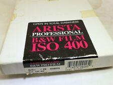 "Arista 4X5 "" Expired 2007 B&W Sheet Film 25 sheets SO 400 medium format"