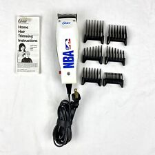 Vintage 1996 Oster NBA Themed Sports Clippers Hair Trimmer Kit 274-22 - Works!