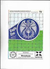 COLCHESTER UNITED V WREXHAM 25/04/1989 DIVISION 4  (6)