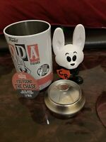 Hanna Barbera Crusader Rabbit Chase Black Armor Funko Soda Vinyl Figure 800pcs