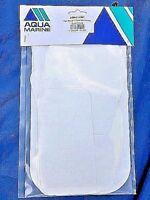 Pack of 10 Heavy duty sail & furling UV strip / sail repair patches, (White)