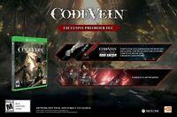 CODE VEIN  Bonus CODE DLC GOD EATER Weapon Set/Venous Claw XBOX ONE S / X