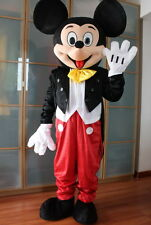 2019 New Professional Mickey Mouse Mascot Costume Unisex Adult Size Fancy Dress