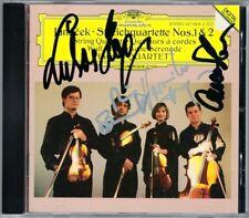 HAGEN QUARTETT Signiert JANACEK String Quartet No.1, 2 WOLF Italian Serenadde CD