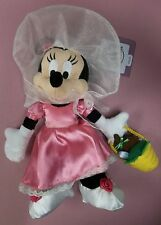 "Disney Parks 9"" Minnie Mouse Easter Parade with Easter Egg Basket Plush"