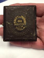 1/16th Daguerreotype Case Philadelphia Address