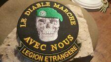 """Patch à coudre ou à coller au fer """""""""""" Légion Etrangère """""""""""" (Hauteur:10-Larg:9)"""