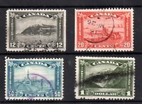 Canada 1930 Definitive Higher values to $1 fine used Cat Val £60+ WS20974
