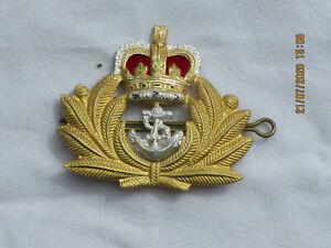 Royal Navy Officer Beret Badge, Marine Abzeichen,England, GB,UK