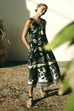 Anthropologie $188 Soha Maxi Dress by Floreat ~Size Medium 8, 10~ NEW, Sold Out!