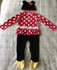 Baby Girls Minnie Mouse All In One Babygrow Outfit/Fancy Dress Up/Costume 18-24m